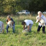 Socialisatie: rennen en spelen in de natuur!!